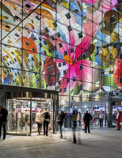Entrance of the Markthal.