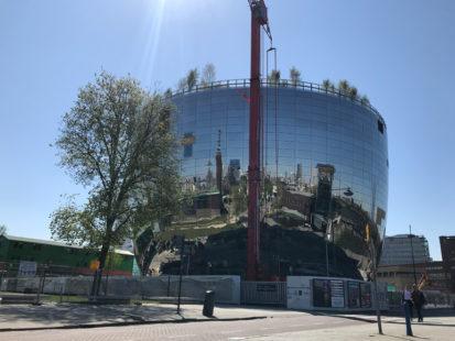 Ontwerp kunst depot Boijmans Van Beuningen door MVRDV